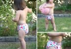 Nuggles Simplee OS Hybrid Diaper and Hanging Wet Bag #MadeinCanadaBaby