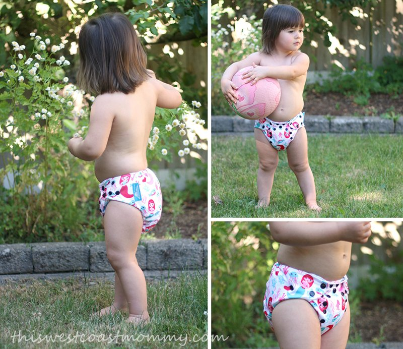 Nuggles Simplee OS Bamboo Hybrid Diaper