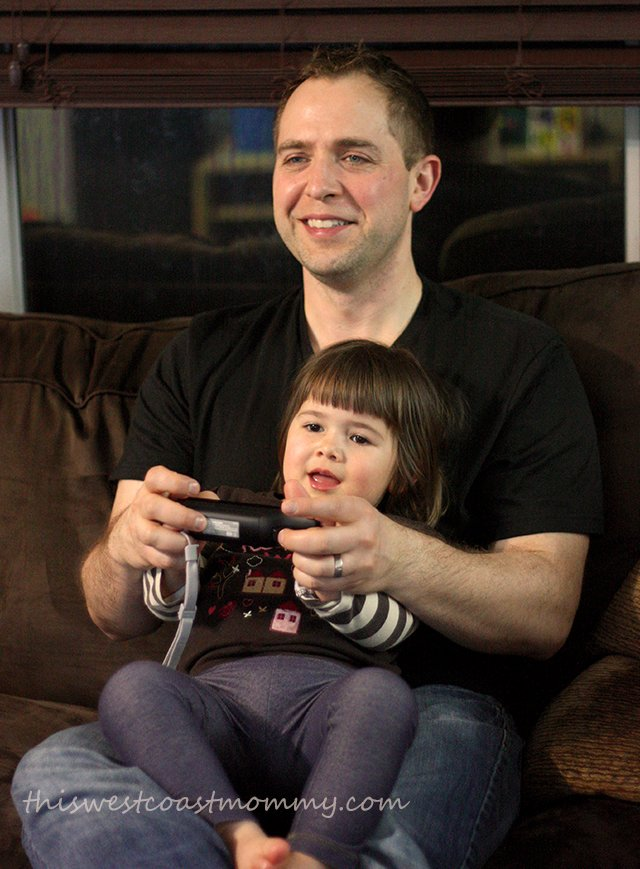 Learning to play Mario Kart with Daddy