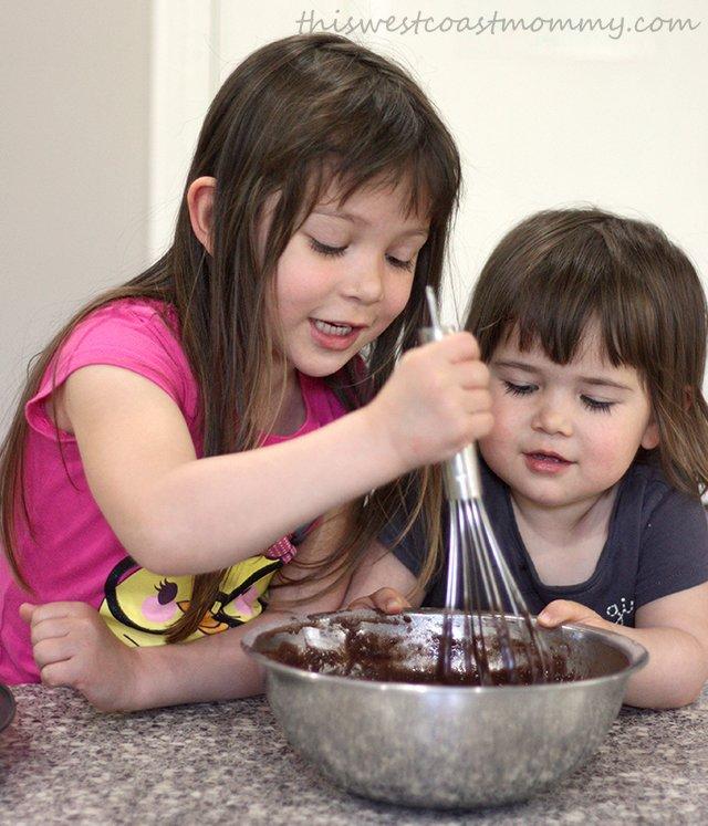 Kids love baking!