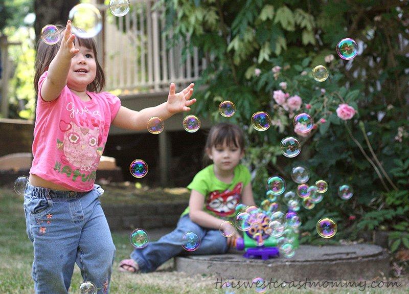 Blow bubbles!