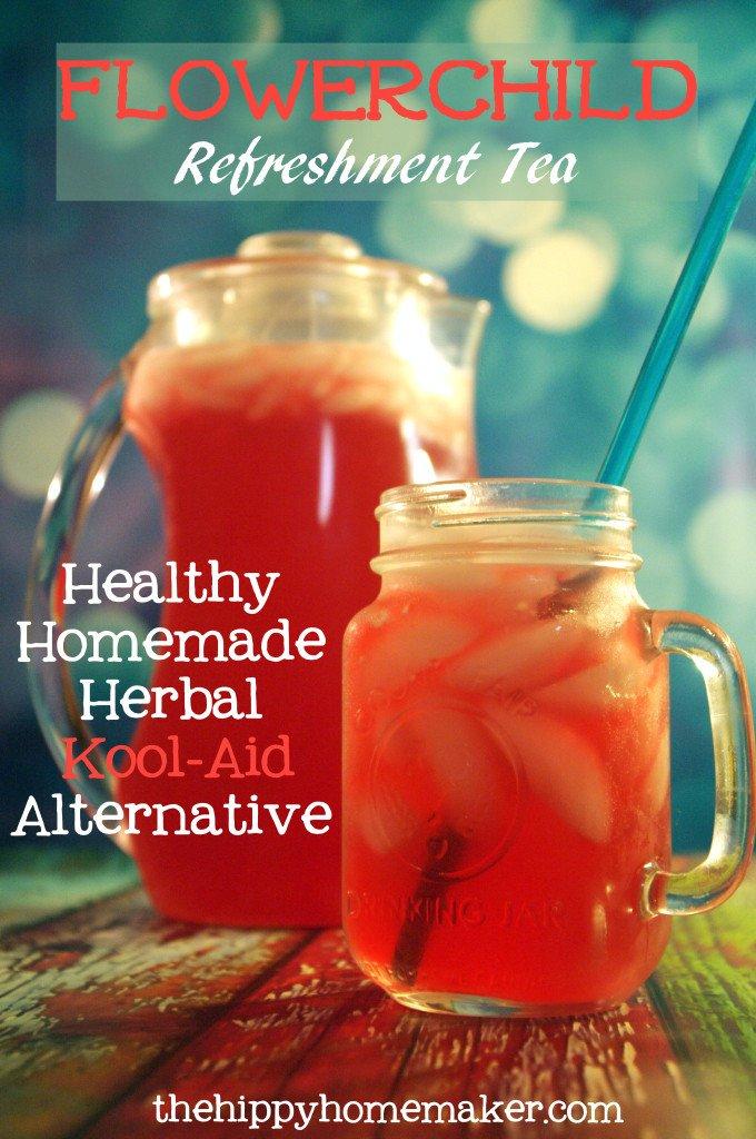 Flowerchild Refreshment Tea from The Hippy Homemaker