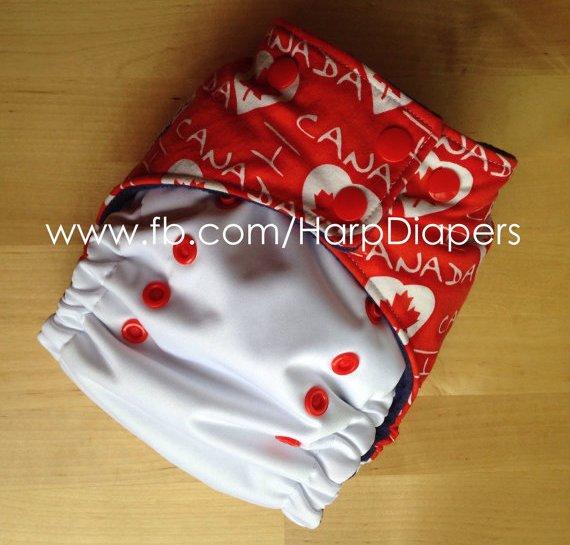 I Heart Canada AI2 - Harp Diapers