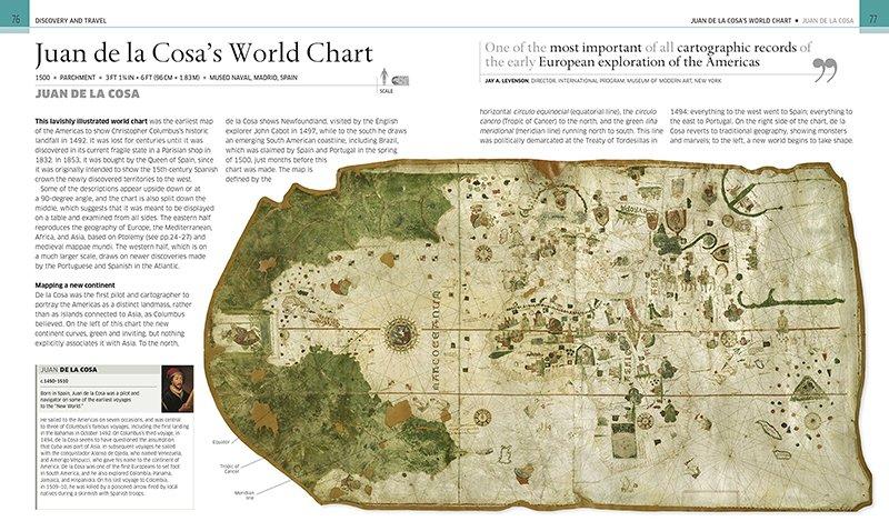 Juan de la Cosa's world chart