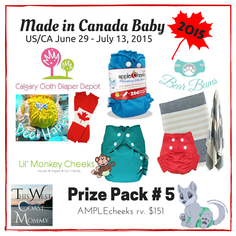 Win $1550 in Prizes in the Made in Canada Baby Giveaway - 10 Winners! (CAN/US, 7/13)