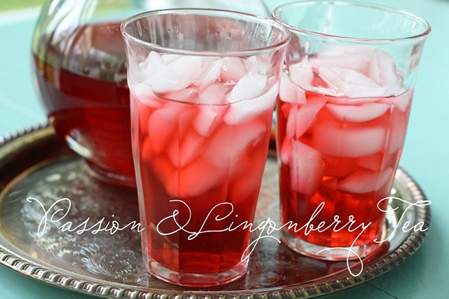Passion & Lingonberry Tea from Love of Home