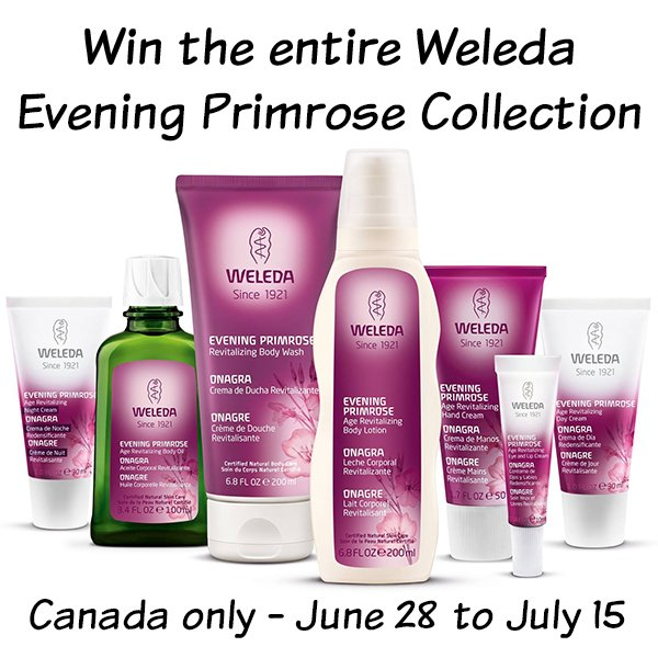 Win the entire evening primrose revitalizing collection