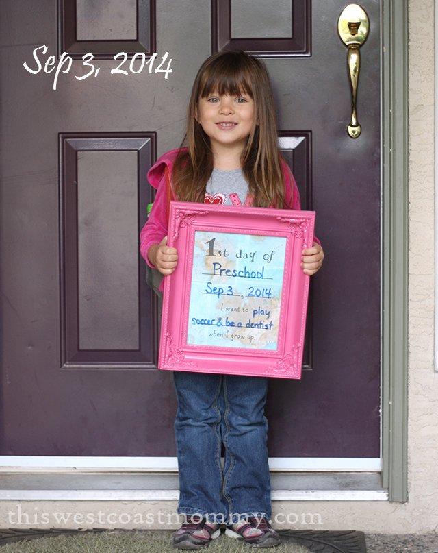 first day preschool 2014