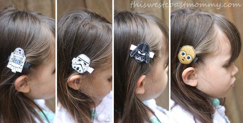 Cold Lipstick's Garden Star Wars clippies