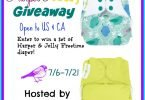 Win Harper and Jolly bumGenius Freetime Cloth Diapers {Closed}