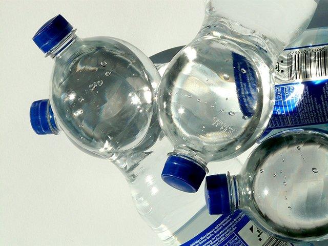 Sleep with ice water bottles