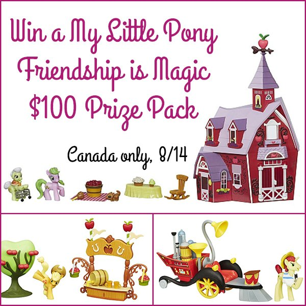 Win a Friendship is Magic $100 Prize Pack (CAN, 8/14)