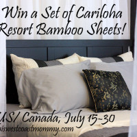 Win a Set of Cariloha Resort Bamboo Sheets (US/CAN, 7/30)