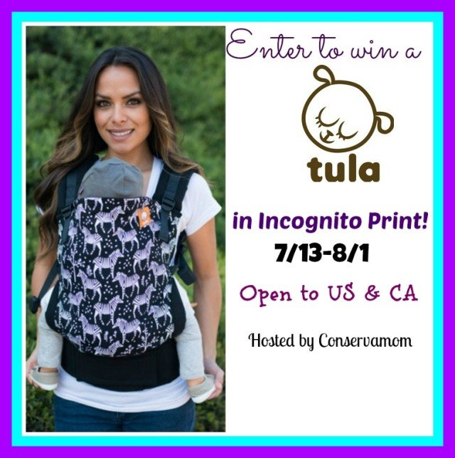 Win a Tula Baby Carrier! (US/CAN, 8/1)