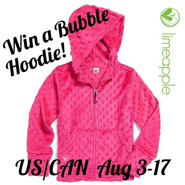 Win a bubble hoodie