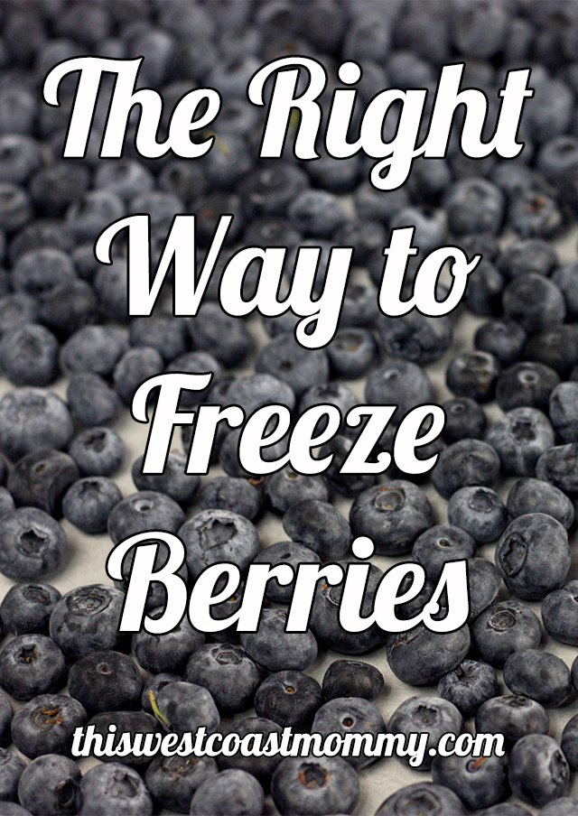 Learn the right way to freeze berries!