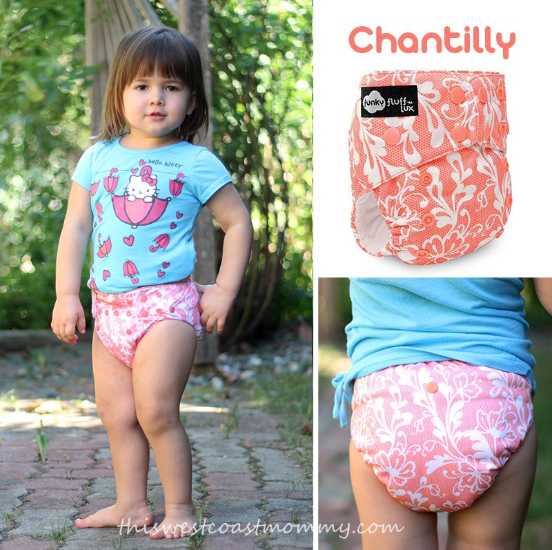 Funky Fluff's newest print: Chantilly