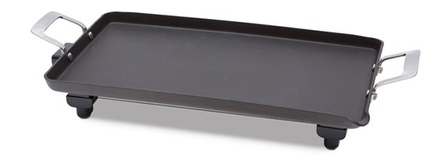 circulon hard anodized jumbo electric griddle - Electric Griddles
