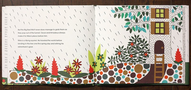 Once Upon a Rainy Day interior spread