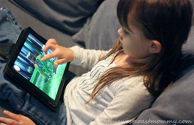 Safari Tales mobile app: learning through creative play