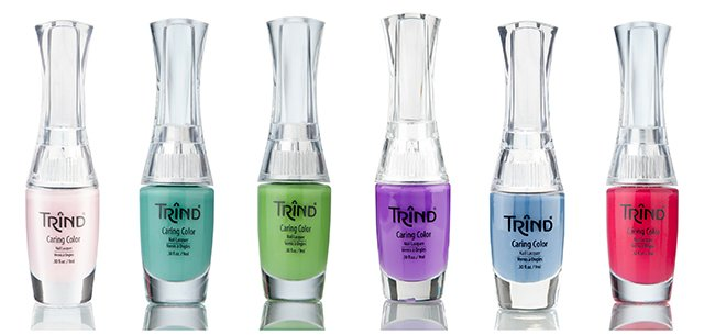 Summer Colour Wardrobe of Trind Caring Color Polishes