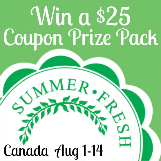 Win a Summer Fresh Coupon Prize Pack (CAN, 8/14)