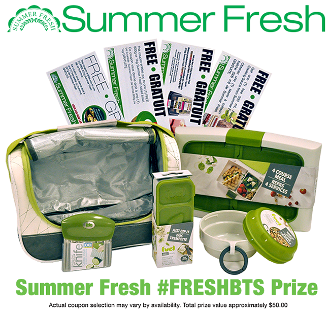 Win a Summer Fresh Back to School prize pack! (CAN, 9/23)