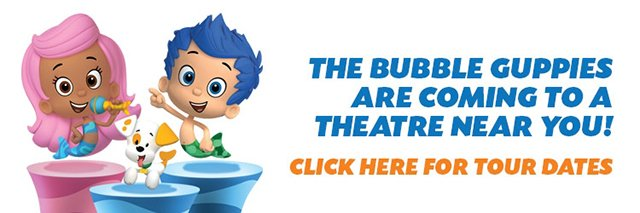 Bubble Guppies Tour Dates