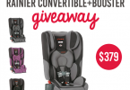 Win a Diono Rainier Car Seat! {Giveaway Closed}