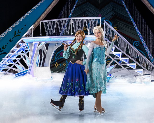 Disney On Ice presents Frozen - Anna & Elsa