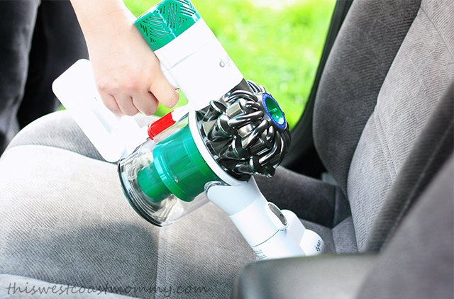 Works great to deep clean your car seat upholstery.