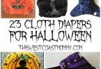23 Spooky Cloth Diapers for Halloween