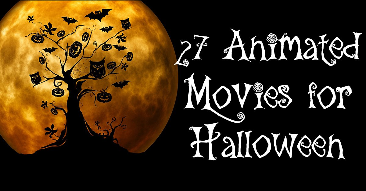 27 Family-Friendly Animated Movies for Halloween | This West