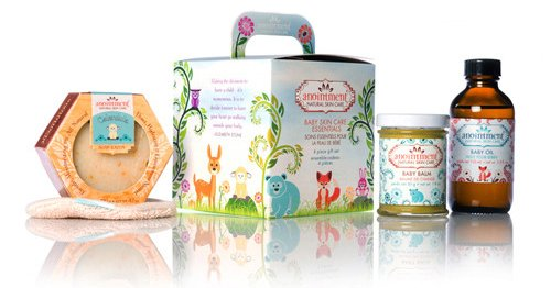 Anointment baby skin essentials gift set