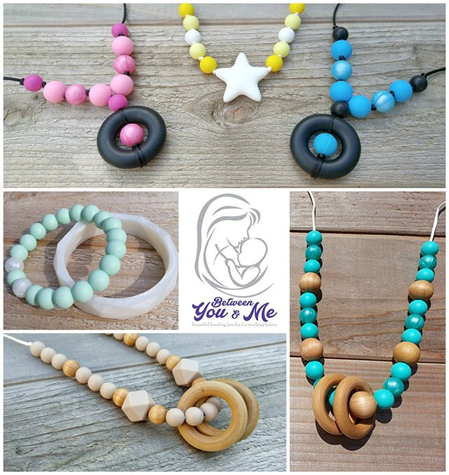 Between you and me teething necklaces twcmgifts this west coast mommy between you me teething makes beautiful handmade wood and silicone jewelry is inspired by babywearing aloadofball Choice Image