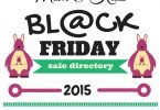 Mom and Kids Black Friday 2015 Sale Directory