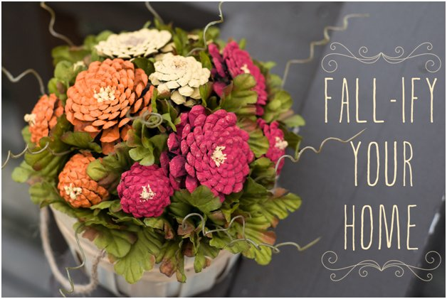 Fall Ify Your Home With A Beautiful Arrangement Of DIY Pinecone Mums. Get  Step Great Pictures