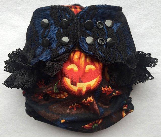 Halloween, Pumpkin & Lace AI2 from Debonaire Derriere