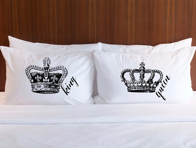 Printed pillowcase sets are a great gift for the holidays, a wedding or wedding anniversary, or even a housewarming!