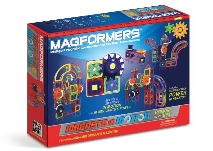 Magformers construction sets encourage creative play and help kids discover their inner engineer!