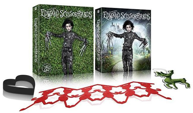 the simple gift and edward scissorhands Johhny depp is edward scissorhands this is a wonderful fable from the brilliant imagination of tim burton it's a twisted and sophisticated gothic fairytale with a dose of comedy, and a.