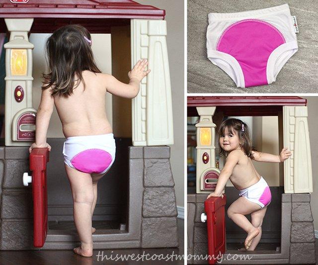 AppleCheeks Learning Pants look and fit like underwear