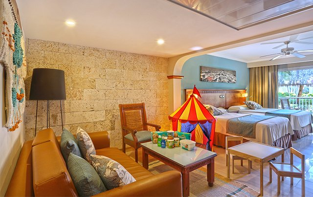 The Grand Palladium Bávaro Suites Deluxe Junior Suite came with lots of little details and extras to make it truly family-friendly.