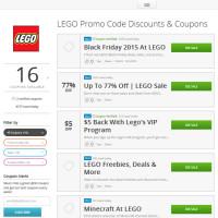 LEGO Groupon Coupons