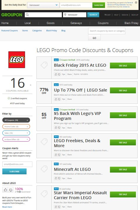 Groupon Coupons Has Thousands of Deals and Promo Codes