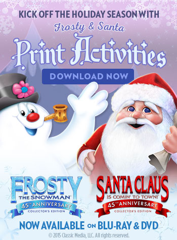 Santa & Frosty printables