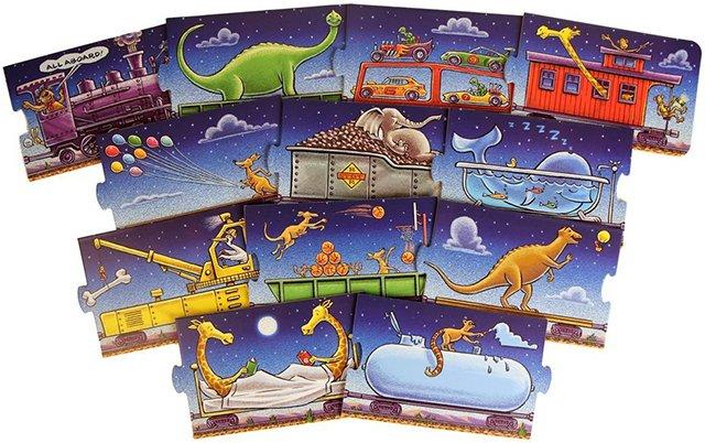Steam Train, Dream Train puzzle pieces