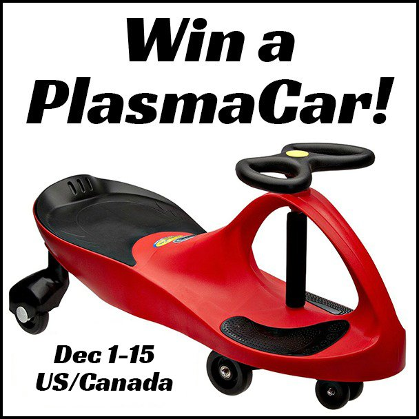 Win a PlasmaCar (US/CAN, 12/15)
