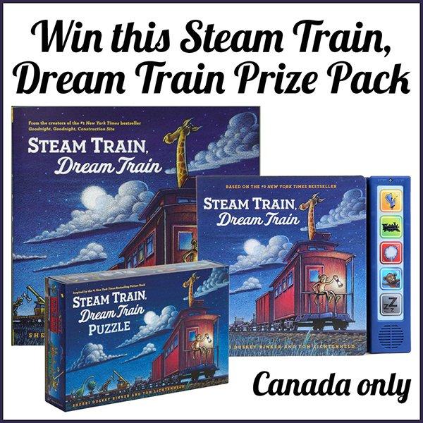Win a Steam Train, Dream Train prize pack (CAN, 12/6)