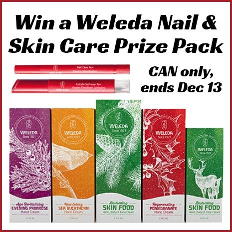Win a Weleda nail and skin care prize pack (CAN, 12/13)